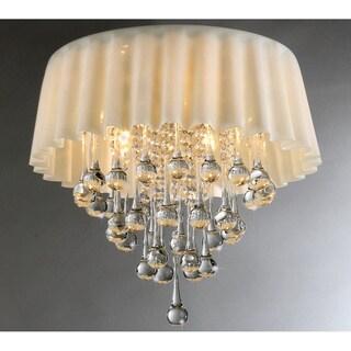 Almond Curtain Crystal Chandelier