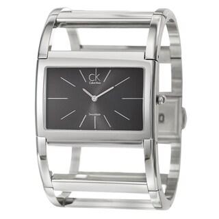 Calvin Klein Women's 'Dress' Stainless Steel Swiss Quartz Watch