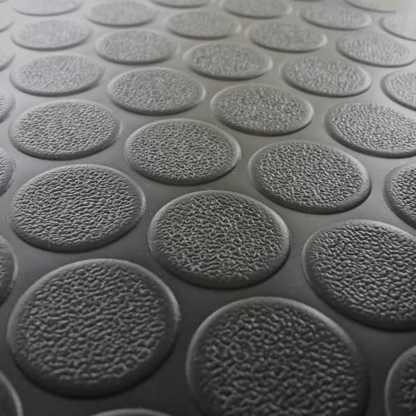 Rubber Cal Coin Grip Flooring