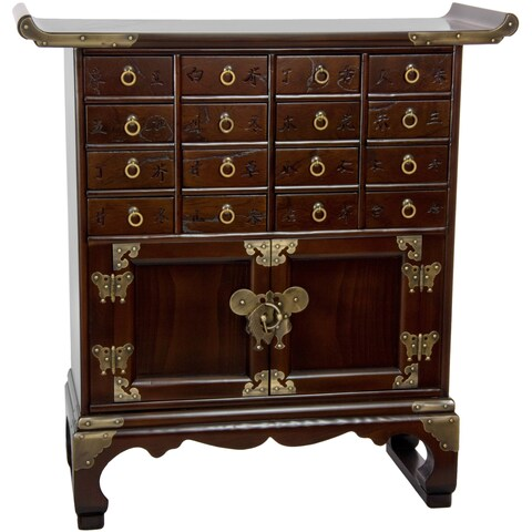 Korean Antique Style 16 Drawer Medicine Chest (Korea)