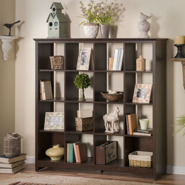 buena vista 16 cube bookcase - Bush Furniture