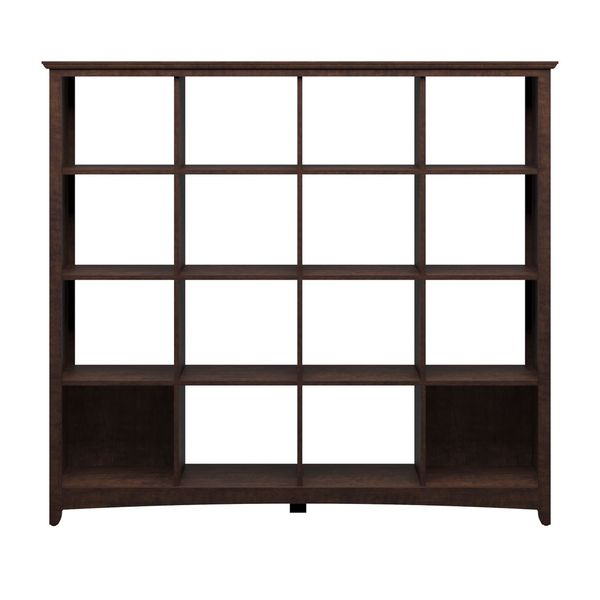 buena vista 16 cube bookcase free shipping today - Bush Furniture