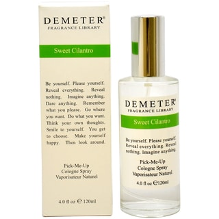 Demeter Sweet Cilantro Women's 4-ounce Cologne Spray