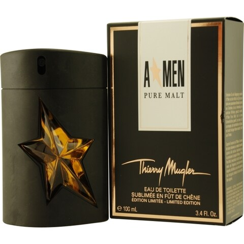 Thierry Mugler A-Men Pure Malt Men's 3.4-ounce Eau de Toilette Spray (Limited Edition)