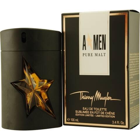 Thierry Mugler A-Men Pure Malt Men's 3.4-ounce Eau de Toilette Spray (Limited Edition)