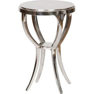 Cast Aluminum Round Side Table