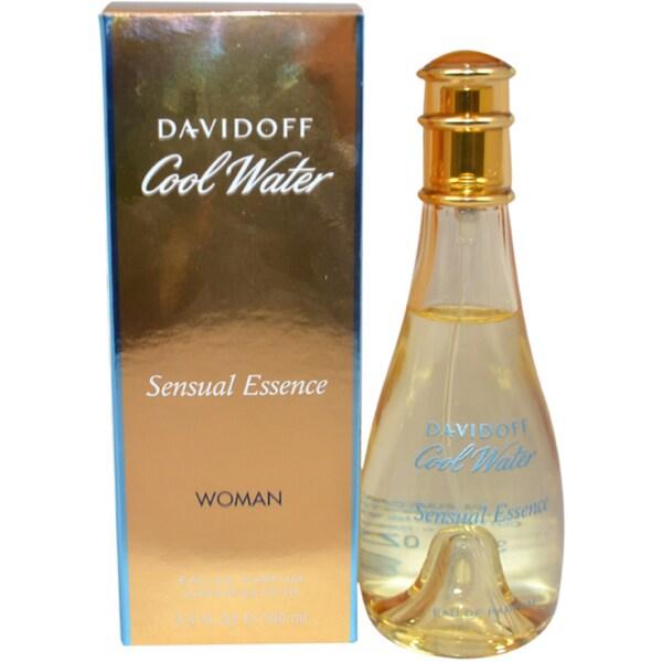 Shop Zino Davidoff Cool Water Sensual Essence Womens 34 Ounce Eau