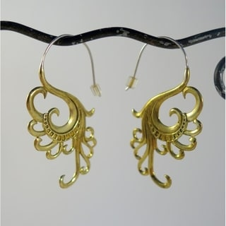 'Swan Dreams' Earrings by Spirit Tribal Fusion