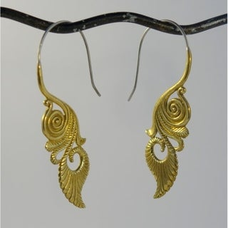 Handmade Hypnotic Tribe Earrings (Indonesia)