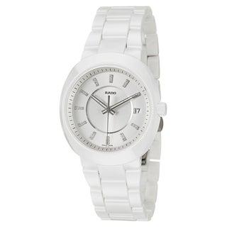 Rado Women's 'D-Star' Ceramic Swiss Quartz Watch