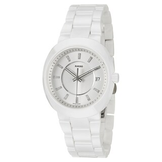 Rado Women's 'D-Star' Ceramic Swiss Quartz Watch