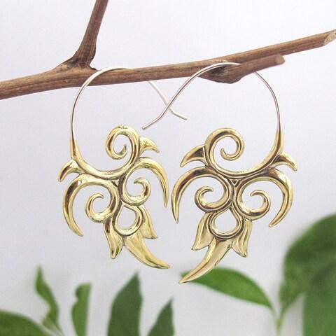 Handmade Tribal Energy Earrings (Indonesia)