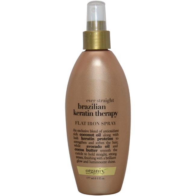 Organix Ever Straight Brazilian Keratin Therapy 6-ounce F...