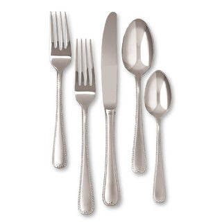 Gorham Ribbon Edge Frost 5-piece Flatware Place Setting
