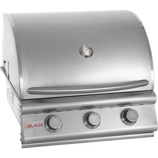 Blaze 25-inch 3-burner Built-in Natural Gas Grill