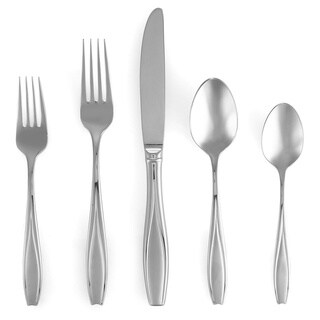 Gorham Tulip Frosted 5-piece Flatware Place Setting