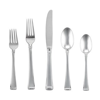 Gorham Column Frosted 5-piece Flatware Place Setting