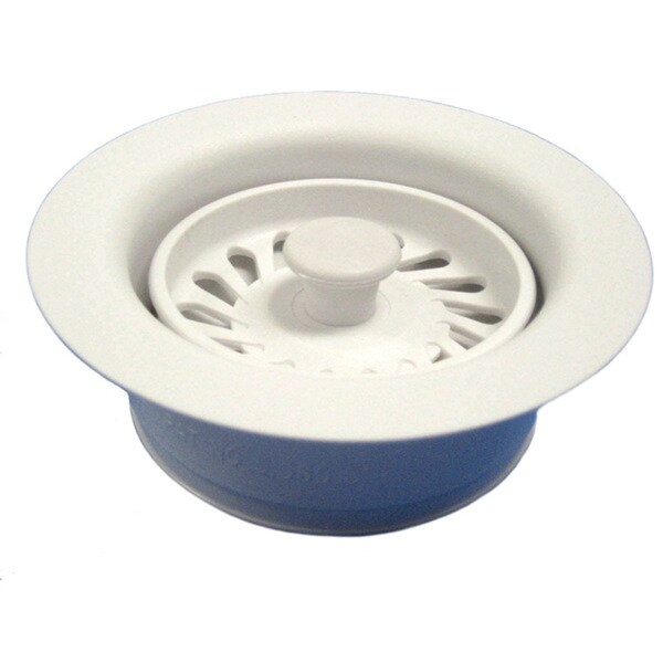 Disposal Flange and Stopper Matte White