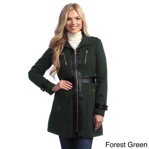 80c4f685979 Shop Miss Sixty Women s Zip-front Military Jacket - Free Shipping ...