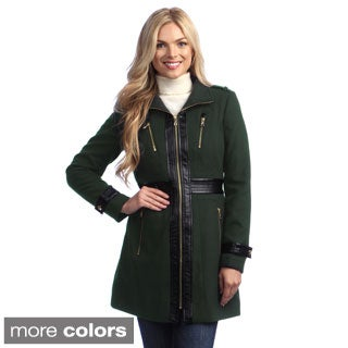 Miss Sixty Women's Zip-front Military Jacket
