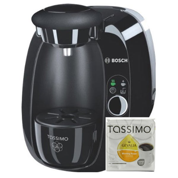 Bosch Tassimo T20 Beverage System/ Coffee Brewer with 12 Gevalia Coffee T Discs