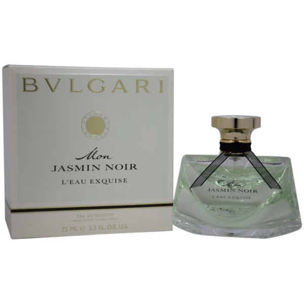 Shop Bvlgari Mon Jasmin Noir L'Eau Exquise Women's 2.5-ounce Eau de Toilette Spray - Free Shipping On Orders Over $45 - Overstock - 8240308