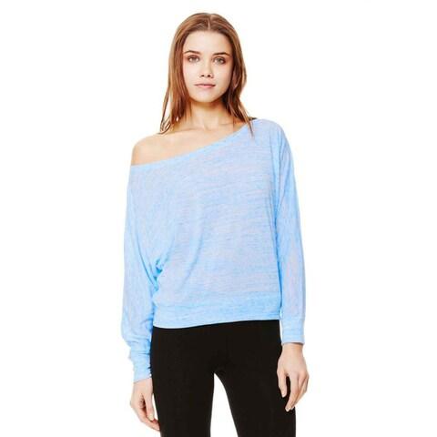 Bella Women's Off-the-shoulder Long Sleeve Shirt