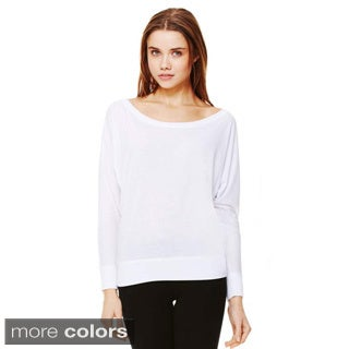Bella Women's Off-the-shoulder Long Sleeve Shirt