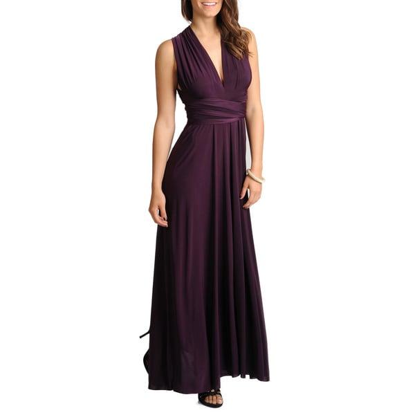 Von Vonni Women's Solid Convertible Gown (One size)