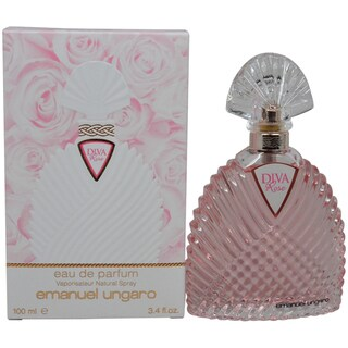 Emanuel Ungaro Diva Rose Women's 3.4-ounce Eau de Parfum Spray - Pink