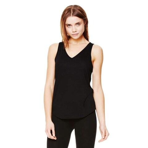Bella Women's Flowy V-neck Tank-top