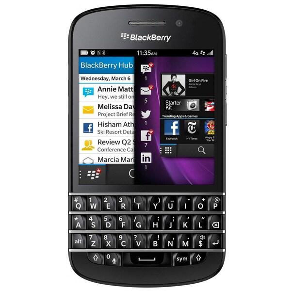 BlackBerry Q10 SQN100-1 16GB Unlocked GSM 4G LTE OS 10 Cell Phone