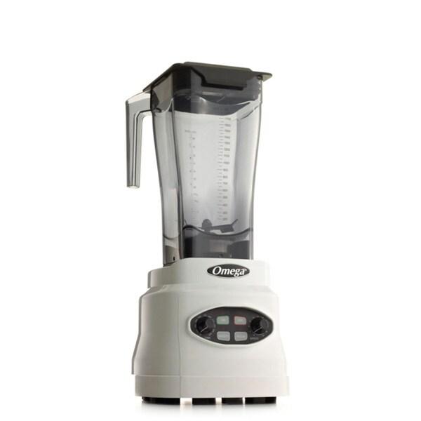 Omega BL630W 3-HP, 64-Ounce Variable Speed Blender- White