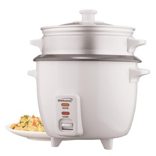 Brentwood 4 Cup Rice Cooker Steamer