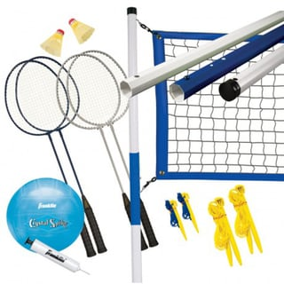 Franklin Sports Recreational Badminton/Volleyball Set