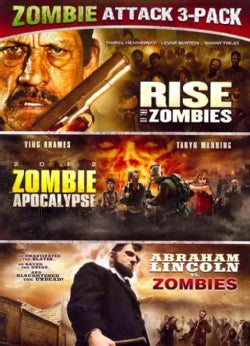 Abraham Lincoln Vs. Zombies/Zombie Apocalypse/Rise Of The Zombies (DVD)
