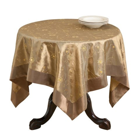 Embroidered/ Sequined Tablecloth