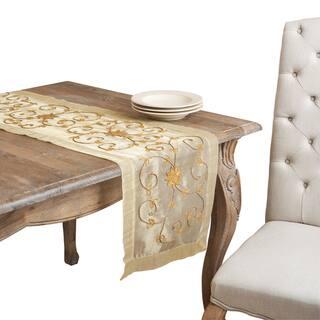 Handmade Beaded Table Runner|https://ak1.ostkcdn.com/images/products/8244346/8244346/Handmade-Beaded-Table-Runner-P15571770.jpg?impolicy=medium