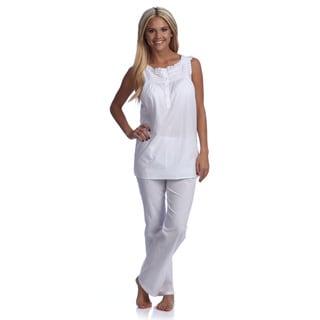 Sleeveless Pajama Set