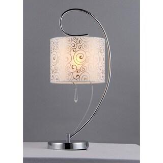 Swirl Crystal Table Lamp