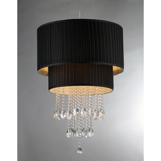 Double Cake Crystal Chandelier
