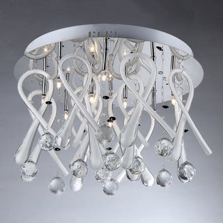 Ribbon Drops Crystal Chandelier