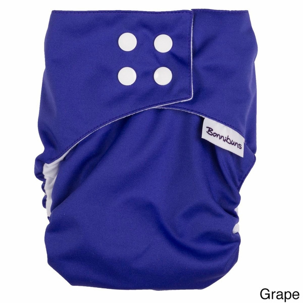 Bonnibuns Rapid Dry All-in-One Cloth Diaper