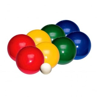 Franklin Sports Recreational Bocce Ball Set - 84mm