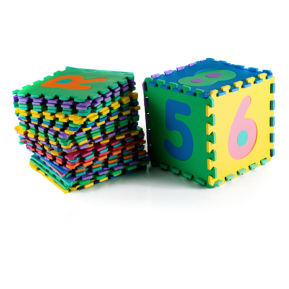 Trademark Poker Alphabet Foam 36-piece Jigsaw Puzzle Floo...