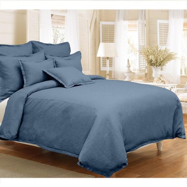Grand Luxe Gotham Linen 3 Piece Duvet Cover Set 15572575