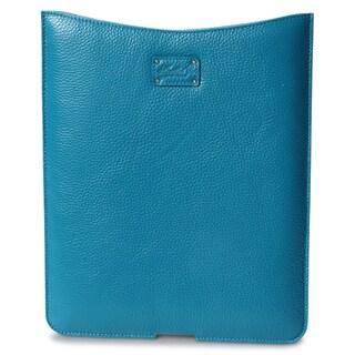 Morelle & Co Tess Genuine Leather Turquoise iPad Holder