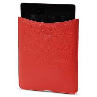 Morelle & Co Tess Genuine Leather Coral iPad Holder