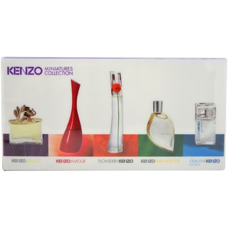 Kenzo Miniatures Collection Women's 5-piece Fragrance Gift Set