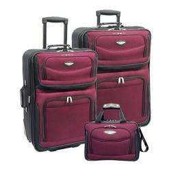 Traveler's Choice Amsterdam 3 Piece Collection Red